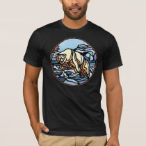 Tribal Bear Art T-shirt Polar Bear Shirts & Gifts