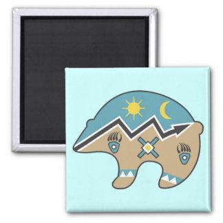 Tribal  Bear Design Magnet