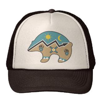 Tribal  Bear Design Trucker Hat