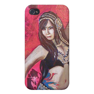 Tribal Belly dancer Cover For iPhone 4