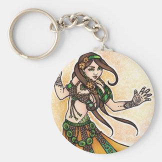 Tribal Belly Dancer Keychain