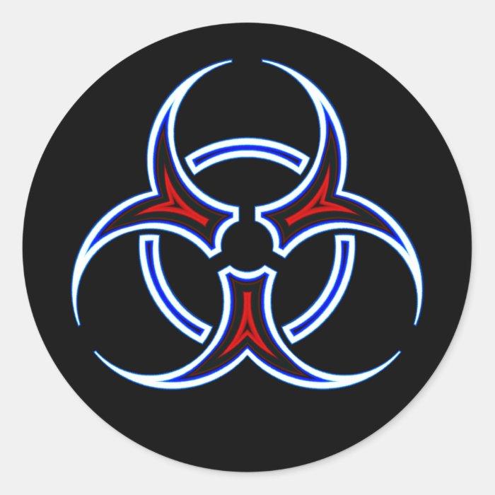 Pin Bio Hazard Stickers Bumper Sticker Giant On Pinterest