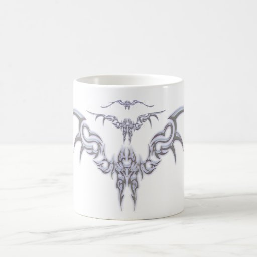 Tribal Bird Classic White Coffee Mug
