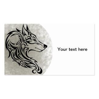 Tribal black Wolf 1