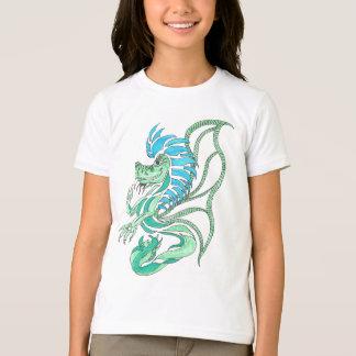 Tribal Blue Dragon T-Shirt