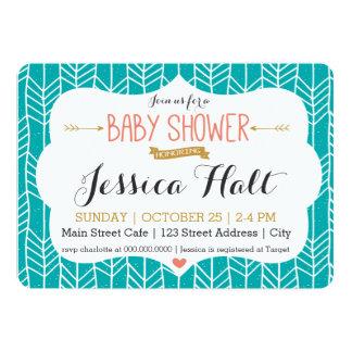 Tribal Boho Baby Shower Invitation