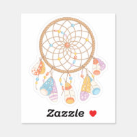 Tribal Boho Dreamcatcher 2 Sticker