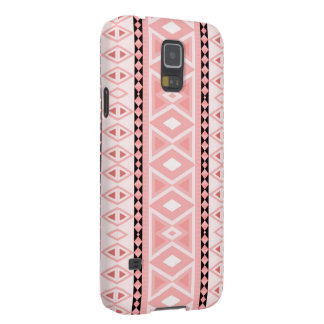 tribal border pattern  vertical,pink (I) Galaxy S5 Covers