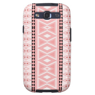 tribal border pattern  vertical,pink (I) Galaxy S3 Cover