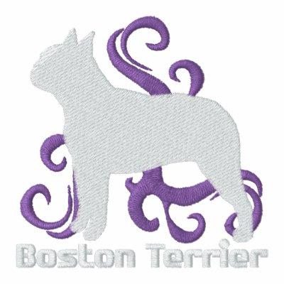 Tribal Boston Terrier