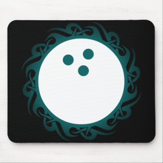 tribal bowling mouse pad