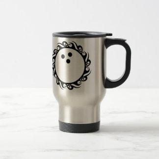 tribal BOWLING 15 Oz Stainless Steel Travel Mug