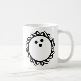 tribal BOWLING Classic White Coffee Mug