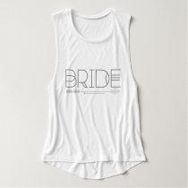 Tribal Bride & Arrow   Wedding   Muscle Tank