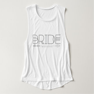 Tribal Bride & Arrow | Wedding |Muscle Tank