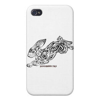 Tribal Bunny iPhone 4 Cover