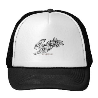 Tribal Bunny Trucker Hat