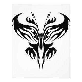 Tribal Butterfly Art  #029 Personalized Flyer