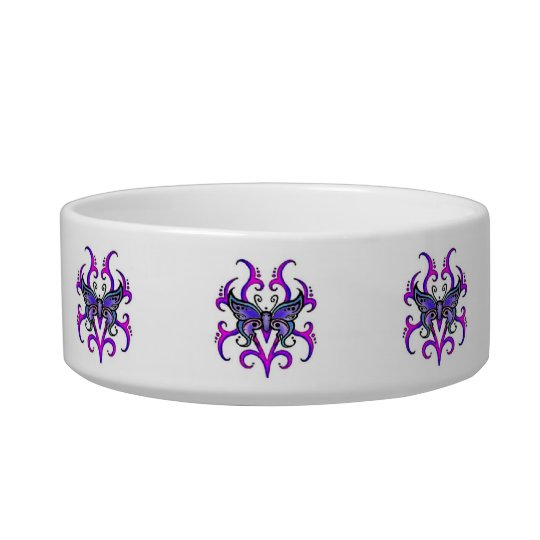Tribal Butterfly Bowl