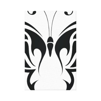 Tribal Butterfly Canvas Print