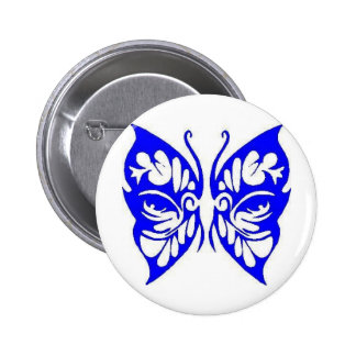 TRIBAL BUTTERFLY PINBACK BUTTONS