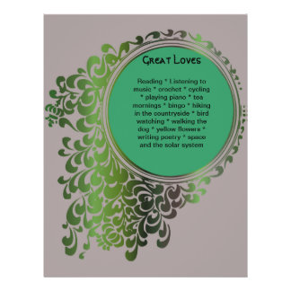 Tribal Celtic Pagan Funeral Program Pg 7-8 Personalized Flyer
