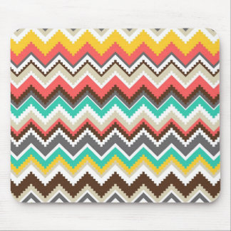 Tribal Chevron Mouse Pad