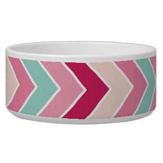 Tribal chevron zigzag stripes zig zag pattern chic bowl