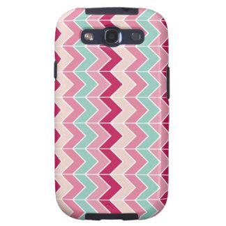 Tribal chevron zigzag stripes zig zag pattern chic galaxy SIII case