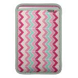 Tribal chevron zigzag stripes zig zag pattern chic MacBook sleeves