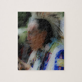 'Tribal Chief in Ceremony' Puzzles