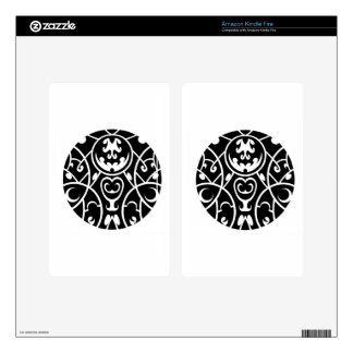 tribal circle art kindle fire decals