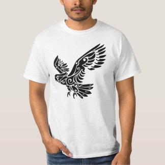 Tribal Cockatoo parrot bird tattoo T-Shirt