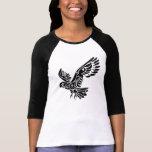Tribal Cockatoo parrot bird tattoo Tshirts