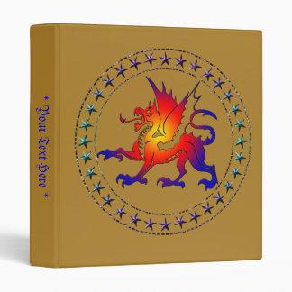Tribal Color Dragon Binder I
