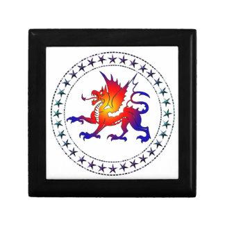 Tribal Color Dragon Gift Box