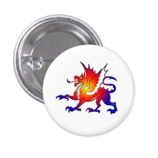 Tribal Color Dragon Pin