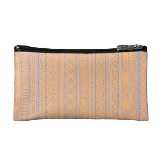 Tribal cream Ethnic vintage pattern Wristlet