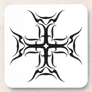 Tribal Cross-country race Beverage Coaster