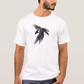 Tribal Crow T-Shirt