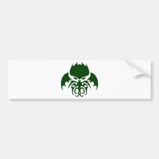 Tribal Cthulhu Bumper Stickers