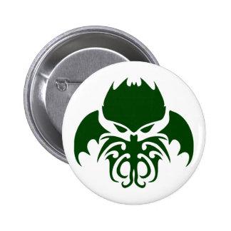 Tribal Cthulhu Button