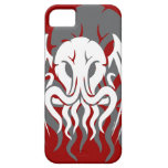 Tribal Cthulhu iPhone 5/5S case double image red