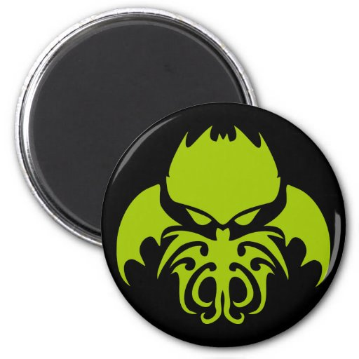 Tribal Cthulhu Refrigerator Magnet