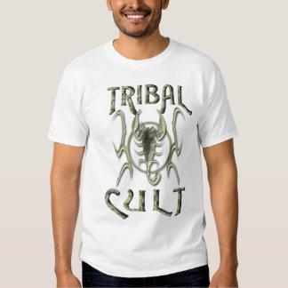 tribal cult scorpion tee shirt