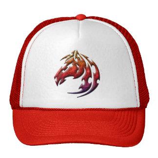 Tribal customizable tribal horse head trucker hat
