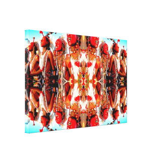 Tribal Dance Gallery Wrapped Canvas