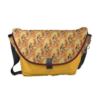 Tribal Dance Messenger Bag