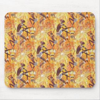 Tribal Dance Mouse Pad