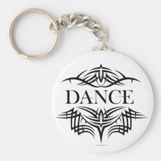 Tribal Dance (plain) Keychain